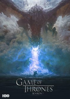 """18 Fan Made Posters For The Upcoming Season 7 of """"Game Of Thrones"""". Jon Snow in the North. Daenerys Targaryen Heads For Westeros. Arte Game Of Thrones, Watch Game Of Thrones, Game Of Thrones Fans, Winter Is Here, Winter Is Coming, Game Of Throne Poster, Game Design, Dragon Medieval, Ver Series Online Gratis"""