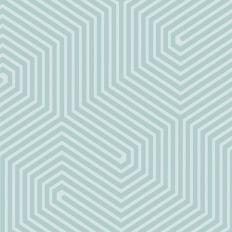 Papier peint - Cole and Son - Labyrinth - Peppermint