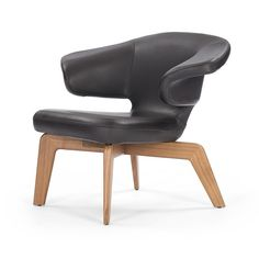 Classicon - Munich Lounge Chair - Sauerbruch Hutton - hout, staal, stof of leer - Duitsland - 2009 - €2150