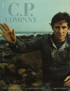 C.P. Company's 2006 advertising campaign involving Gabriel Byrne reflected the brand's refined aesthetic throughout the period that followed Moreno Ferrari's highly conceptual reign as C.P. Company's Creative Director.