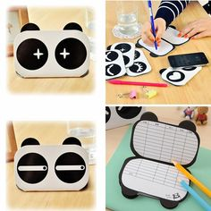 Lovely Cute Panda Small Books Notes Paper Diary Notebook Memo Note Book 1PCS
