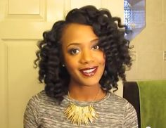 BeauTIFFul Curls // Curl Wand Tutorial for Natural Hair #naturalhair #naturalhairstyles #hairstyles #bighair #curlyhair #kinkyhair #curlwand #haircare