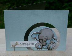 Love the full cutout and the cute elephant.