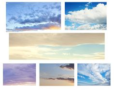 Make your photos go from blah to fabulous with these free sky overlays. Use photoshop to insert a new sky! Photoshop Help, Photoshop Overlays, Photoshop Design, Photoshop Elements, Photoshop Tutorial, Photoshop Actions, Lightroom, Photography Basics, Photoshop Photography
