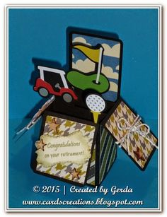 Gerda's Cards Creations: DCD Challenge 215 - National Golf Month.