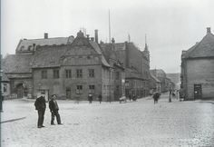 Oslo , Norway 1905: The old Town Hall
