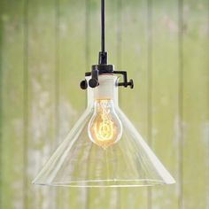 """Vintage Clear/Black 9.5"""" 40watts need two of these to get enough light in the area?"""