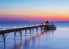 One of my favourite places in the whole of England - The Clevedon Pier, Bristol. North Somerset, Online Gallery, Great Britain, London England, The Places Youll Go, Bristol, Seaside, Beautiful Places, Abstract Art