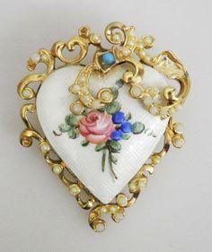 Heart-shaped  Jewellery Box.