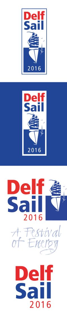 My entry for the logo design competition Sail event DelfSail 2016. My goal was to get on the shortlist and get an article in the newspaper. I succeeded to get an article with my logo design and name in the newspaper but I did not win the contest. However, I won because I reached my goal.