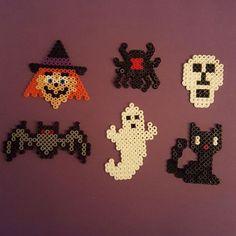 Halloween hama beads by  sylvanavanmaanen
