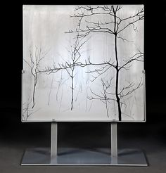 Winter+Intimacy by Paul+Messink: Art+Glass+Sculpture available at www.artfulhome.com