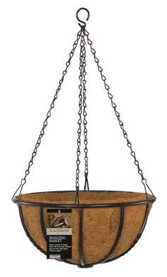 Blacksmith 01415 45cm/ 18-inch Hanging Basket *** More info could be found at the image url. (This is an affiliate link) #Gardening