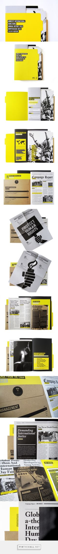 Amnesty International Hong Kong Annual Report 2010 on Behance - created via http://pinthemall.net