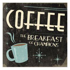 Art Print: Coffee by Jace Grey : I Love Coffee, Best Coffee, Coffee Break, Coffee Girl, Happy Coffee, Coffee Is Life, Black Coffee, Coffee Cafe, Coffee Drinks