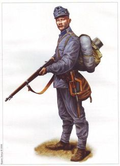 WWI Austria Hungarian soldier