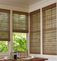 Blindsgalore Natural Woven Shades Shown In Color Abaco Melody Blinds Bamboo