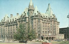 Chateau Laurier 1950s Cheap Lipstick, Ottawa, Barcelona Cathedral, 1950s, Travel, Image, Viajes, Trips, Tourism