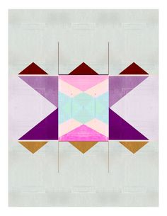 Quilt Print by Alyson Fox for Fashion Loves Color