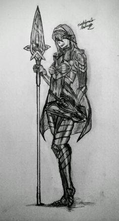 [fanart] A smiling Brave Lucina