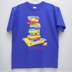 """TUMIGE-KISHI(printed katakana characters)"" means ""Don't leave games unplayed"". Yes,these games are shame of geeks. #NES #SNES #GENESIS #NEOGEO #Geek #game #nintendo #VIRTUALBOY #blue #Tshirt"