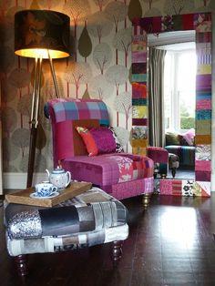 Suzy Newton Patchwork Furniture  Accessories by Suzy Newton, via Behance