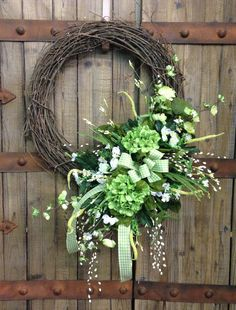 Everyday wreath by WilliamsFloral on Etsy, $65.00