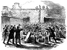 Historic Event - Attempted Escape of Prisoners from Darlinghurst Goal November 1864 South Wales, Prison, Sydney, The Past, November, Australia, Events, Goals, Times