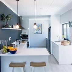 A modern monochrome Plascon palette finished off the stunning renovation of this Langebaan beach house. Interior Paint, Interior And Exterior, Plascon Paint Colours, Weylandts, Coastal Gardens, Coastal Colors, Main Colors, Colorful Interiors, Color Inspiration