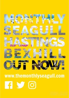 Would you like to advertise in Oct/Nov/Dec? #LocalBusiness #Recruitment #Property #Events editor@themonthlyseagull.com