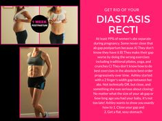 All the other diastasis recti workout plans/exercises I've come across have been BORING! Finally a trainer who tailors to moms who are willing to work hard and be challenged postpartum! Totally doing this again after next baby.