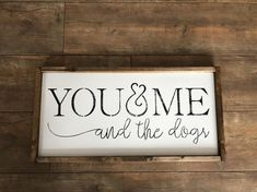 Farmhouse Decor by PikeCreekFarmhouse on Etsy Farm Signs, Dog Signs, Wood Signs Sayings, Wooden Signs, Painted Signs, Modern Farmhouse Decor, Farmhouse Style, Farmhouse Signs, Christmas Wood Crafts