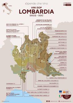 Tutti i vini DOP (DOCG e DOC) della Lombardia, localizzati sulla carta regionale.  Al link le informazioni sulle tipologie e sugli uvaggi.  Italian Wine Region Lombardy Wine Pics, Wine Flavors, Wine Tasting Party, Wine Down, Wine Guide, Italian Wine, Wine Drinks, Wine Recipes, Cabernet Sauvignon