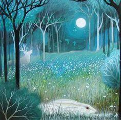 Original painting by Amanda Clark