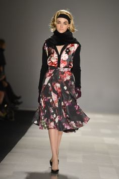 Toronto Fashion Week: Pink Tartan Fall 2013 / Photo by George Pimentel