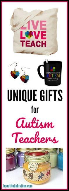 UNIQUE gifts for Autism Teachers