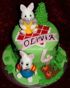 """""""Max and Ruby"""" Birthday Cake - Cake by Stef and Carla (Simple Wish Cakes)"""
