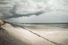 Storm clouds #rain #holland #landscape #sea #beach #netherlands #coast
