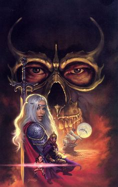 Dragonlance. Dragon Highlord, Silvara, Flint, Tasslehoff