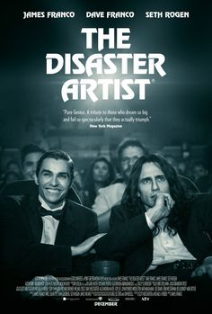 The Disaster Artist - new movie poster -> https://teaser-trailer.com/movie/the-disaster-artist/  #TheDisasterArtist #TheDisasterArtistMovie #JamesFranco #DaveFranco
