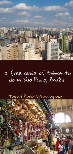 An extensive guide to the top free things to do in Brazil There are many free things that you can do in this very expensive Latin American country, this includes: Sau Paulo parks and neighborhoods to visit Free museums to visit in Sao Paulo Free historic Sao Paulo attractions and landmarks Free markets and Sao Paulo shopping venues Free Sao Paulo parks and other unique open areas or gardens Free Sao Paulo activities, tours and tourist attractions #SaoPaulo #Brazil #freethingstodo
