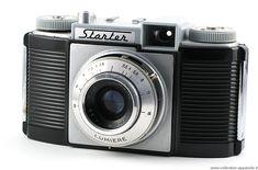 Lumiere Starter  Simple, l'appareil est bien fabriqué. L'obturateur Atoms est celui qu'on trouve également sur les Kodak Pathé 620 de la même époque. Il couvre les vitesses de 1/25 à 1/150 seconde. L'objectif est un Lumière Lypar 3,5/45. Il s'agit d'un des derniers modèles produits par la marque Lumière.
