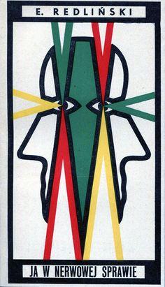"""""""Ja w nerwowej sprawie"""" Edward Redliński Cover by Wojciech Freudenreich Published by Wydawnictwo Iskry 1969"""