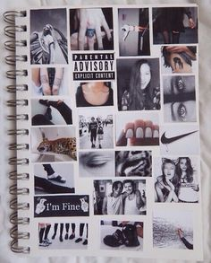 Notebook Grunge Tumblr diy
