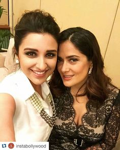 #Repost @instabollywood  Two such Beautiful people Parineeti Chopra takes a selfie with the beautiful Salma Hayek. @INSTABOLLYWOOD    . . #instabollywood #bollywood #india #indian #desi #bollywoodactress #mumbai #bollywoodfashion #bollywoodstyle #bollywoodmovie #indianfashion #indianstyle #delhi #noida #gurgaon #chandigarh #hyderabad #surat #tagforlikes #likesforlikes #parineetichopra #salmahayek @BOLLYWOODREPORT  . For more follow #BollywoodScope and visit http://bit.ly/1pb34Kz