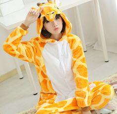 Adult Onesie Children Kigurums Giraffe Pajamas Pyjamas Jumpsuit Cosplay Costume Cartoon Animal Sleepwears Design For Toilet-in Anime Costumes from Novelty & Special Use on Aliexpress.com | Alibaba Group