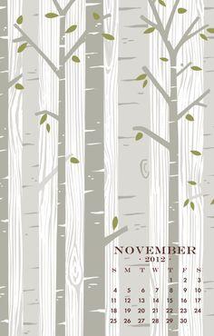 Birch Trees, Nov 2012