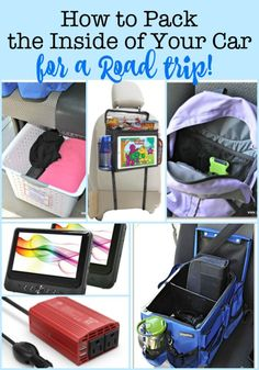 Heading out on the road soon? Here are some travel hacks on how to pack your car for a road trip- from a Mom of 6 kids! Road Trip Packing List, Road Trip Food, Route 66 Road Trip, Road Trip Hacks, Road Trip With Kids, Family Road Trips, Camping With Kids, Travel With Kids, Family Travel