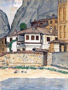 Κόντογλου Φώτης – Photis Kontoglou [1895-1965] Part.II | paletaart3 – Χρώμα & Φώς Home Art, Greece, Houses, Paintings, Art, Greece Country, Homes, Paint, Painting Art