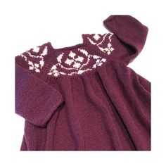 Cornelia kjole, Knitting for Olive (strikket i kfo merino Bordeaux & Kit) Bordeaux, Cold Shoulder Dress, Kit, Knitting, Dresses, Fashion, Vestidos, Moda, Tricot